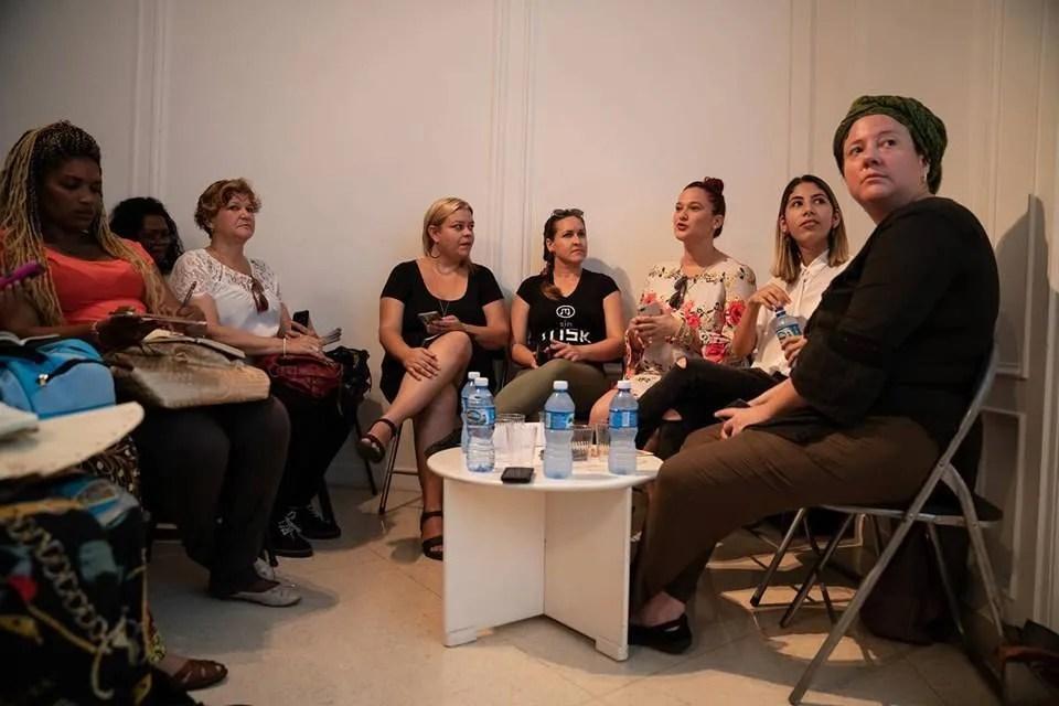 Panel Experiencias cubanas de comunicación en la música. Foto: Dynamic Art