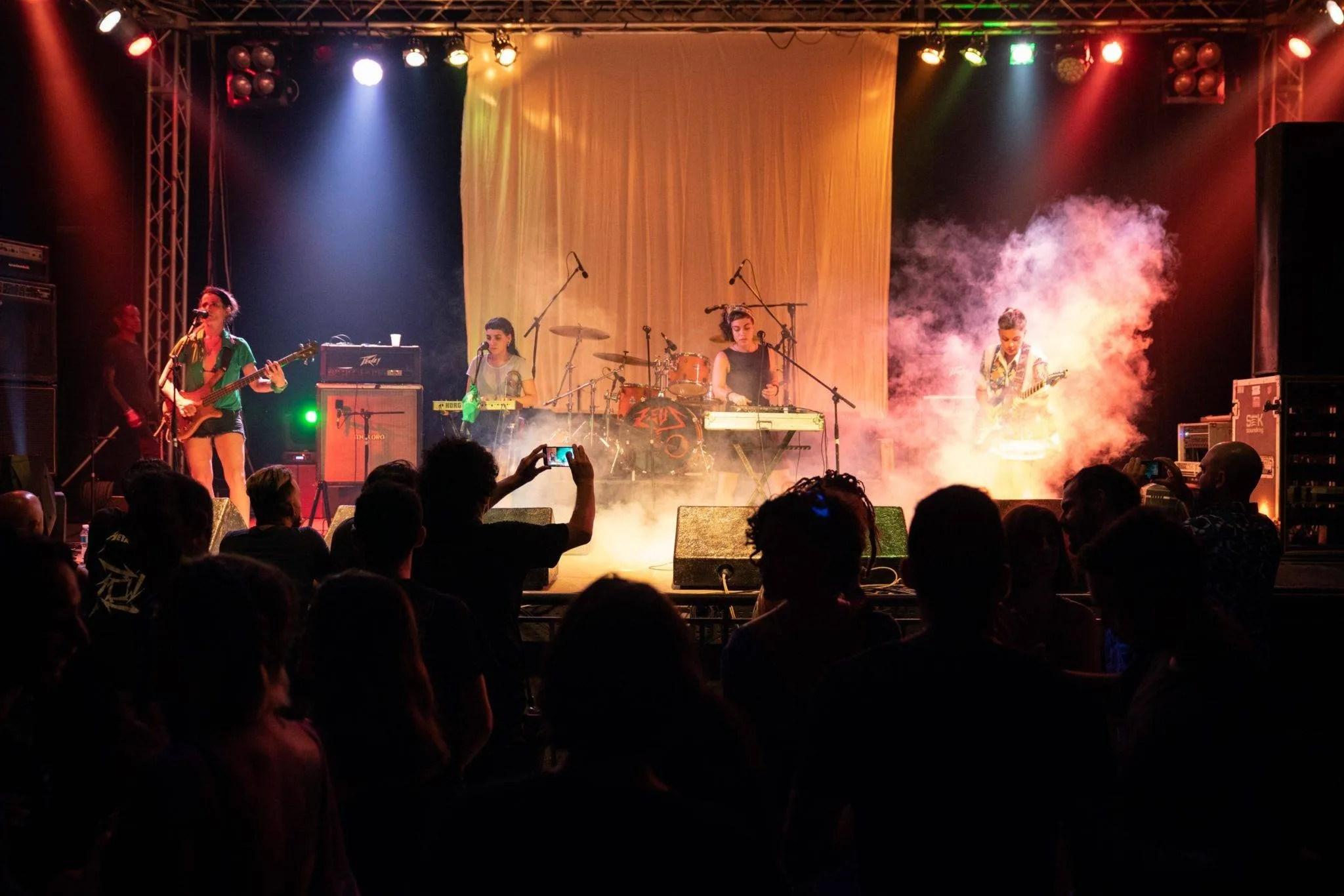 """Alto Guiso durante el encuentro AM-PM """"América por su Música"""". Foto: Dynamicart"""