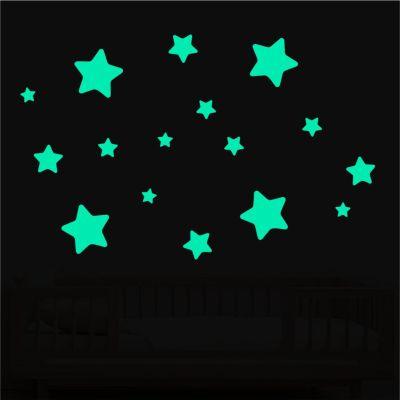 adesivos de estrelas que brilham no escuro