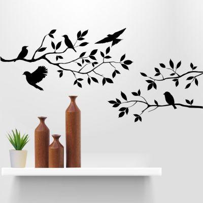 Adesivode Parede Pássaros Voando
