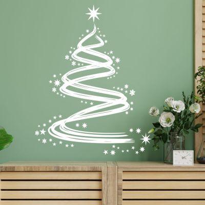 Adesivo de Parede Árvore de Natal 6