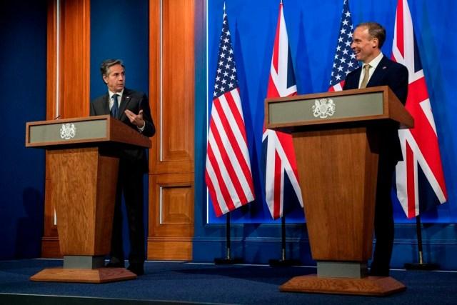 Ministros de Relaciones Exteriores del G7 se reúnen cara a cara tras pausa pandémica