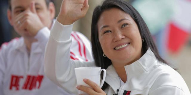 Keiko Fujimori denuncia 'fraude sistemático'
