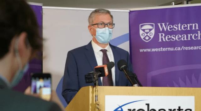 'Hemos llegado tan lejos como podemos': declaró el presidente de Western University sobre las vacunas del campus