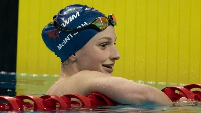 Con solo 14 años, McIntosh es la atleta olímpica más joven de Canadá