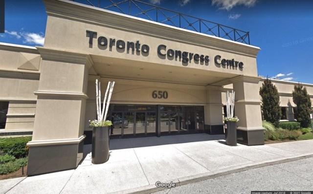 La clínica de vacuna del Toronto Congress Centre permitirá visitas sin cita previa