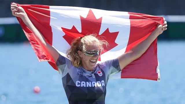 Canadá ganó la histórica plata en C1 200m femenino en Tokio