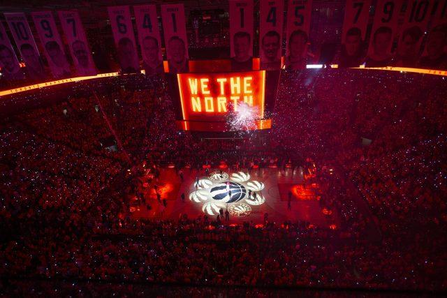 Raptors aptos para jugar en el Scotiabank Arena esta temporada