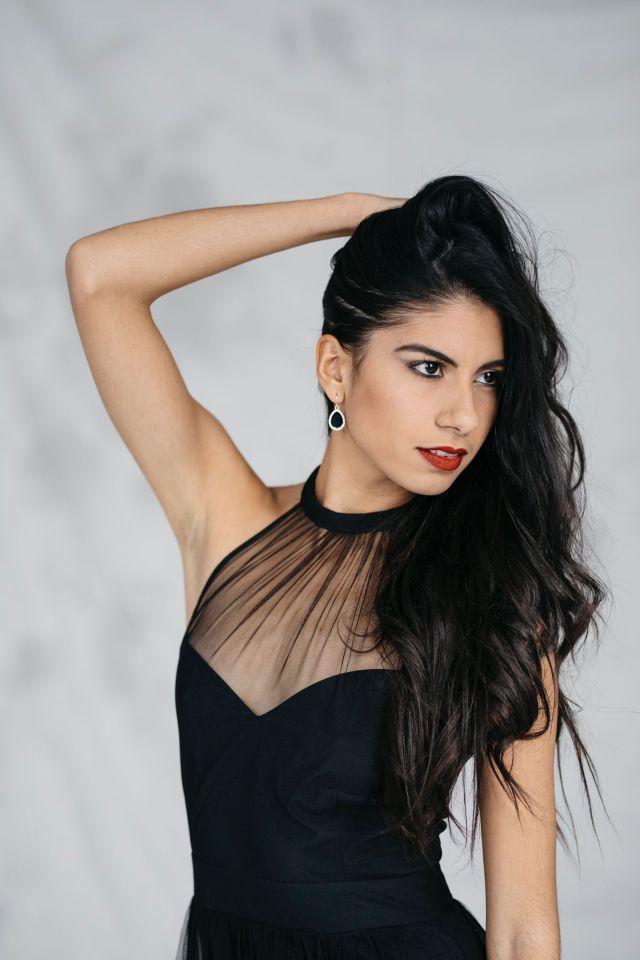 Candidata de Canadá a Miss América latina del mundo.
