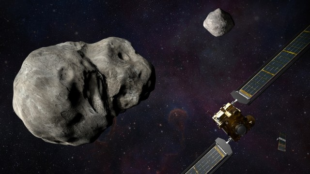 Misión DART de la NASA chocará deliberadamente contra la luna de un asteroide