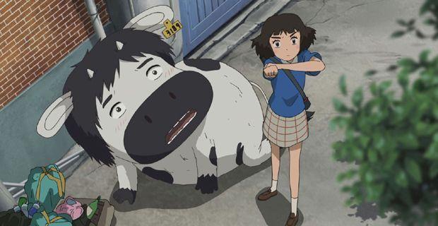 Magazinema La chica satélite y el chico vaca 1