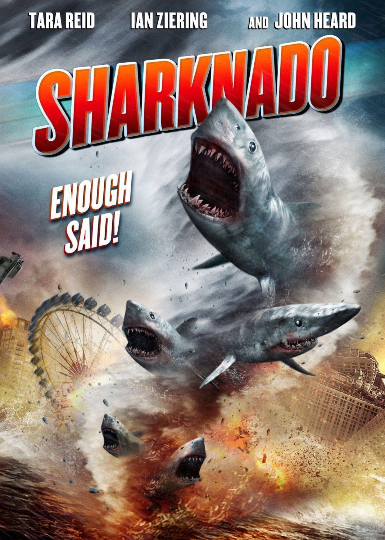 Sharknado poster - MagaZinema