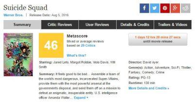 SQ Metacritic - MagaZinema