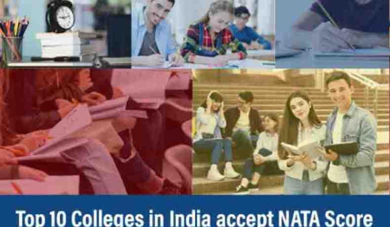 nata colleges in india