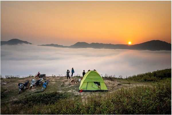 spectacular camping place