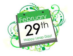 Ciudățenii cu anii bisecți…în cinstea zilei de azi 29 feb!