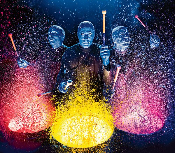 VIA Kultur-Tipps | Foto: Lindsay Best, 2017 Blue Man Prod.uctions