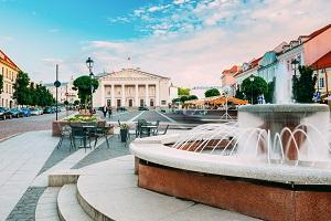 Vilnius Brunnen