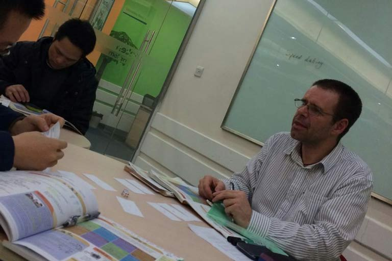 Teaching English in Shenzhen - a TEFL certificate opened the door to a new career
