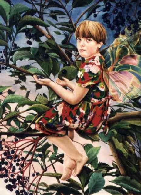 Portret van Marjolein Jespers, olieverf op paneel, 60x80cm