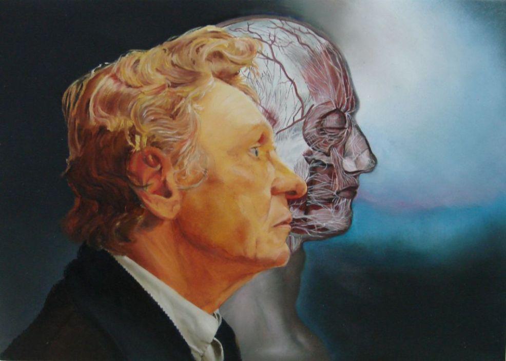 Portret van Philip G., olieverf op paneel, 40x30cm