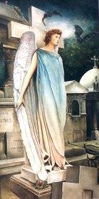 Een Engel heeft van Voor een Vromer Aangezicht, olieverf op paneel, 50x95cm