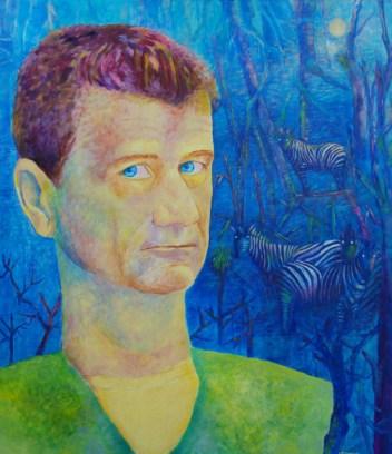 Portret Janusza Palikota obraz olejny Magdalena Walulik