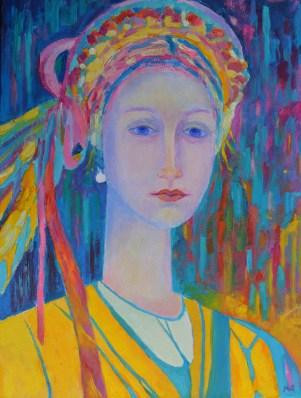 Magdalena Walulik obraz olejny na płótnie_wymiary 30 x 40 cm_malarstwo polskie współczesne