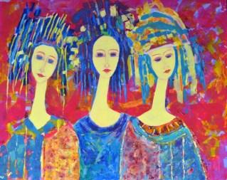 Magdalena_Walulik_portret i postacie kobiet obraz olejny