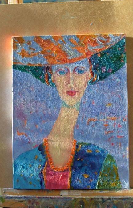 Amedeo Modigliani obraz kobieta w kapeluszu Magdalena Walulik5