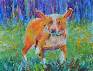 portret-psa-na-zamówienie-psie-portrety ze zdjęcia