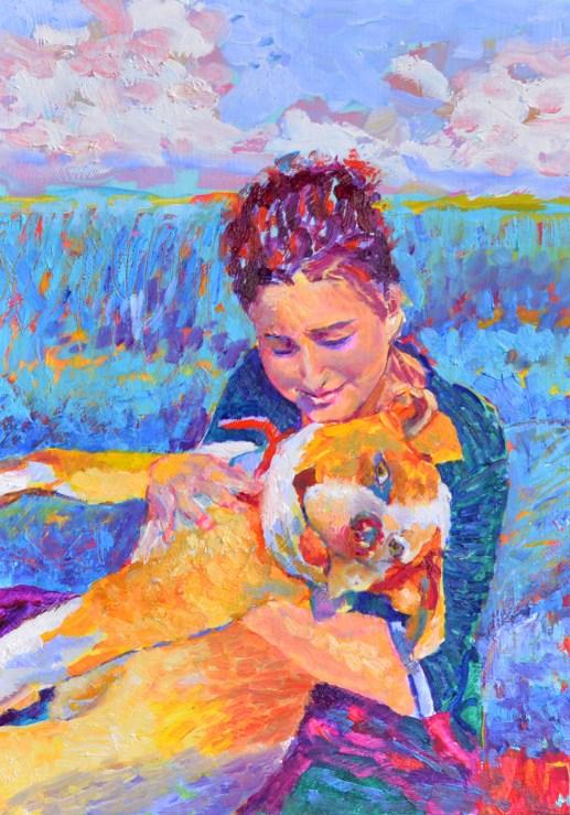 portret-zwierzaka-i-jego-właścicielki