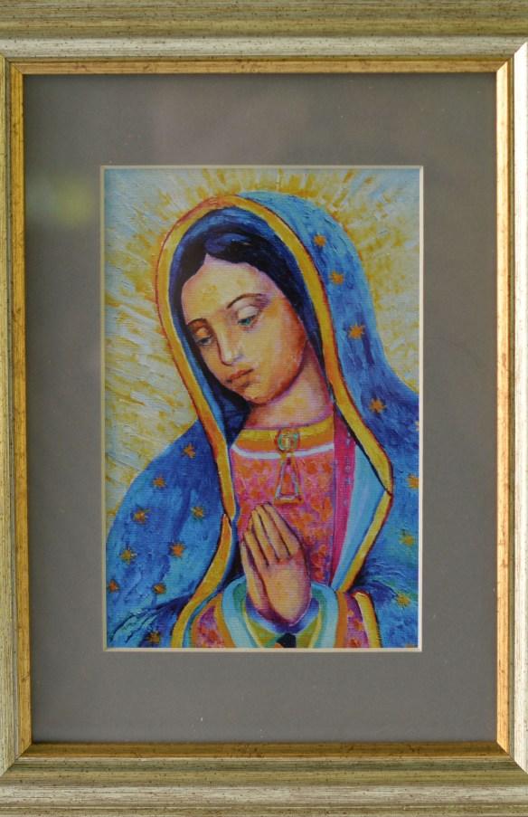 Virgen de Guadalupe framed art
