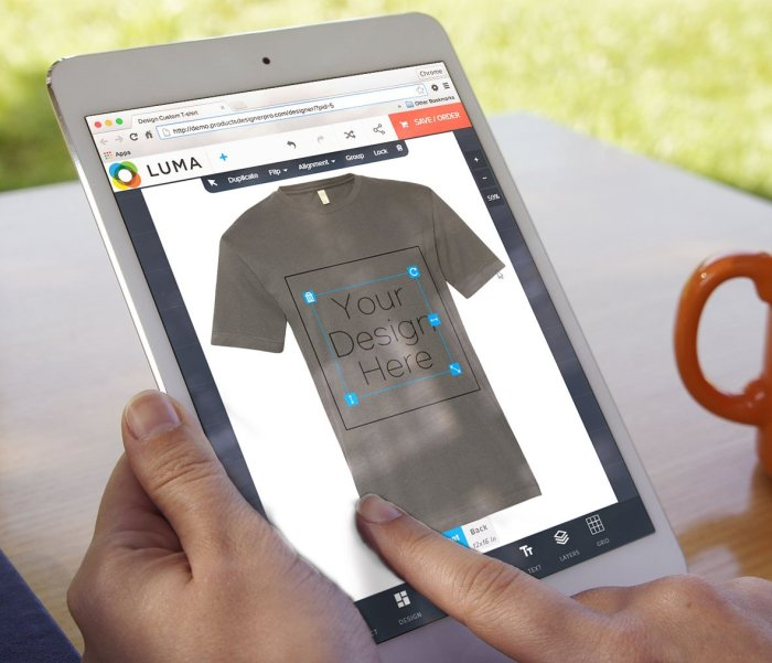 Three Steps To Print A High Quality T-shirt with Product Designer Pro