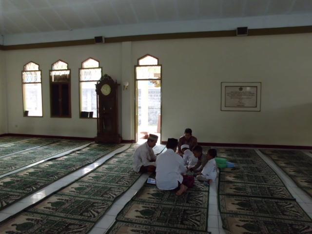 Kegiatan takhmir Masjid Asy Syifa