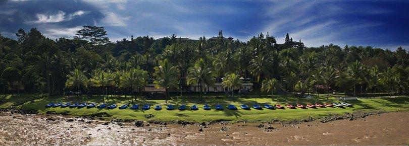 Lokasi progo rafting