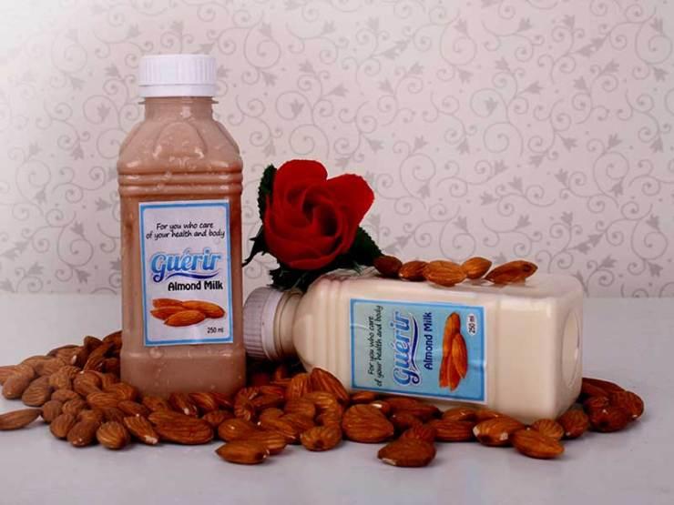 almond milk Guérir