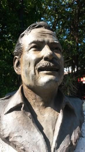 Earnestly, it's Hemingway.