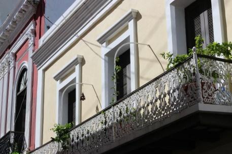 Nice ironwork on the balcony.