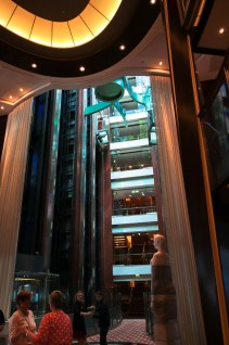Clearly I was impressed by the atrium. This shot gives you an idea of the sheer massiveness of this boat.