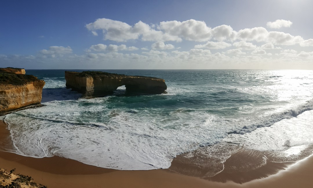 London Arch (formerly London Bridge) Port Campbell National Park, Victoria, Australia