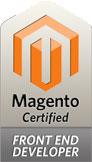front end developer certificazione magento