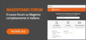 magento forum italia