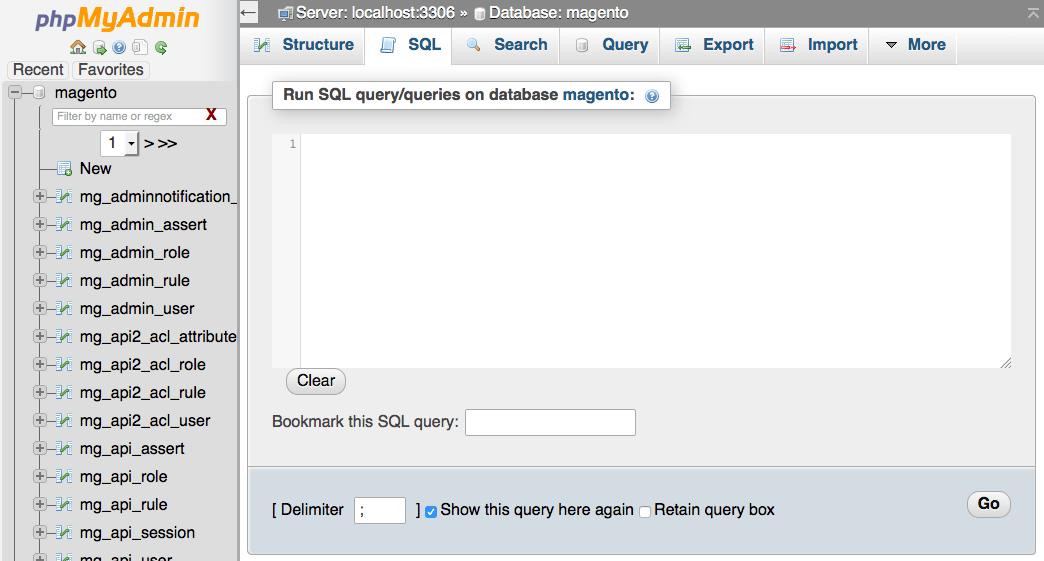 Magento SQL cambiare la password di admin