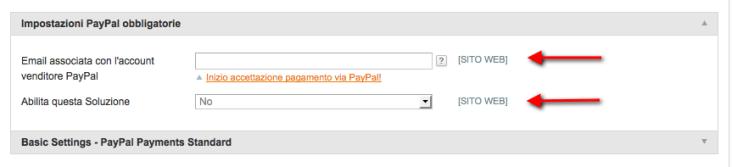 paypal metodi pagamento