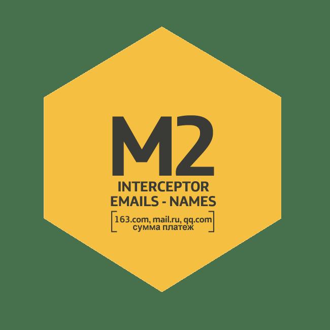 Módulo M2 Interceptor Emails - Names