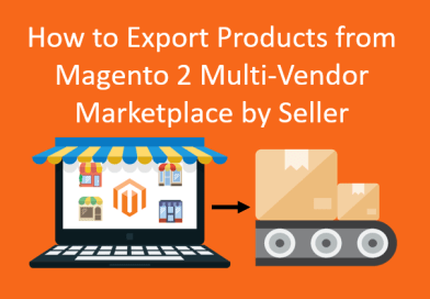 How to export products from magento 2 multi-vendor marketplace by seller
