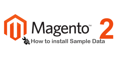 How to install sample data