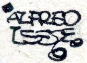 Alfred Leete's monogram