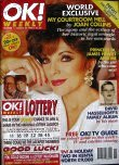 Joan Collins on OK! cover